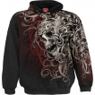 Sweat capuche homme Skull Shoulder Wrap