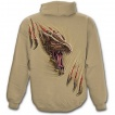 Sweat-shirt gothique homme beige