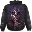 Sweat-shirt homme gothique à visage de clown sanguinaire