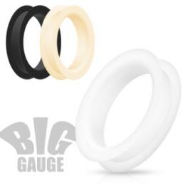 Ecarteur tunnel gros diamètre en silicone ultra flexible