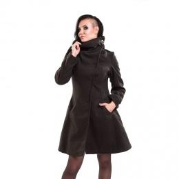 Manteau gothique femme noir NECROMANCER - Vixxin
