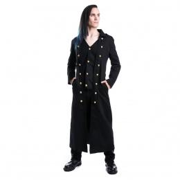 Manteau homme gothique noir SILENT - Vixxin