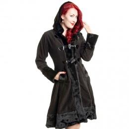 """Manteau polaire noir femme """"MINX"""" Poizen Industries"""