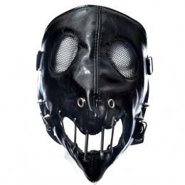 Masque Poizen Industries Hannibal Face Mask Black