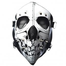 Masque Poizen Industries Skull Face Mask Black
