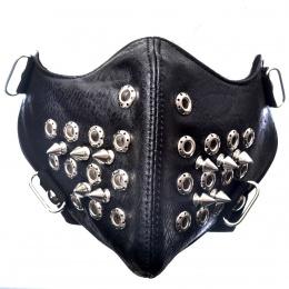 Masque Poizen Industries Spike Mask Full Black
