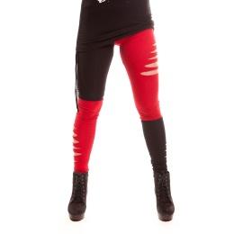 Pantalon femme gothique Jester Leggings - Cupcake Cult