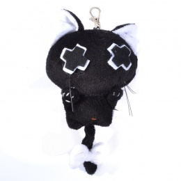 Porte-clés peluche gothique chat Baby Vanity - Luv Bunny's
