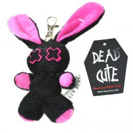 Porte-clés peluche gothique lapin Baby Minxy - Luv Bunny's