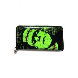 Portefeuille goth-rock Banned à imprimé Frankenstein