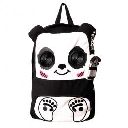 Sac à dos panda avec les yeux en haut-parleurs - Banned