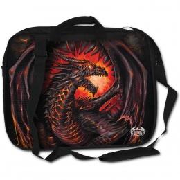 """Sacoche pour ordinateur portable 15"""" avec dragon flamboyant"""