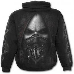 """Sweat-shirt gothique homme """"Evil"""" avec demon à muselière"""
