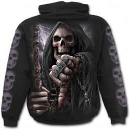 """Sweat-shirt homme gothique avec La Mort """"BOSS REAPER"""""""