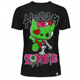 T-shirt femme Hello Zombie - Cupcake Cult
