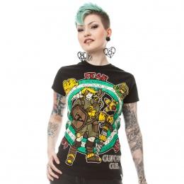 T-shirt femme Steampunk Legend T - Cupcake Cult