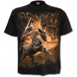 T-shirt homme à Centaure chasseur de dragon