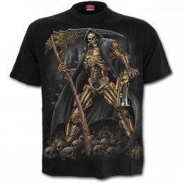 T-shirt homme avec La Mort façon Steampunk