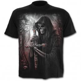 T-shirt homme avec squelette chercheur d'âmes