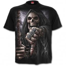 """T-shirt homme gothique avec La Mort """"BOSS REAPER"""""""