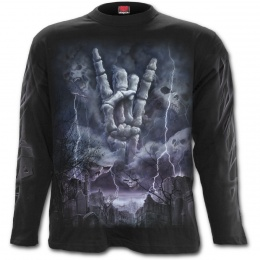 "T-shirt homme manches longues ""ROCK ETERNAL"""