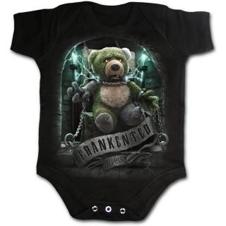 """Body bébé à ours en peluche """"Frankented"""""""