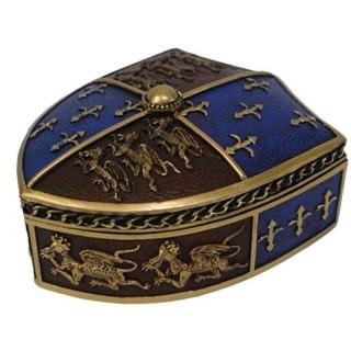 Boîte bouclier médiéval à dragons - Nemesis Now