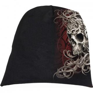 Bonnet gothique Skull Shoulder Wrap