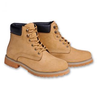 Boots cuir Kenyon camel (mixte) - Brandit
