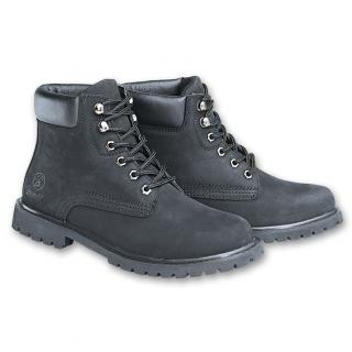 Boots cuir Kenyon noire (mixte) - Brandit