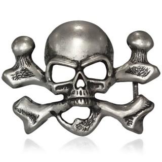 en soldes vente professionnelle beaucoup de styles Achat Boucle de ceinture à tête de mort et os croisés pas cher