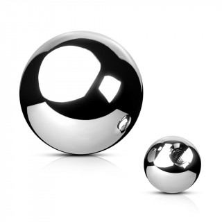 Boule de remplacement en acier pour piercing