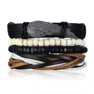 Bracelet homme multicouche style ethnique