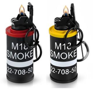 achat briquet temp te port cl en forme de grenade fumig ne pas cher. Black Bedroom Furniture Sets. Home Design Ideas