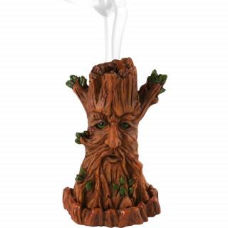 Brûleur à cônes d'encens homme arbre