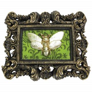 Cadre déco gothique à papillon macabre (24,8cm)
