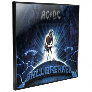 Cadre déco mural ACDC - Ball Breaker - 32cm