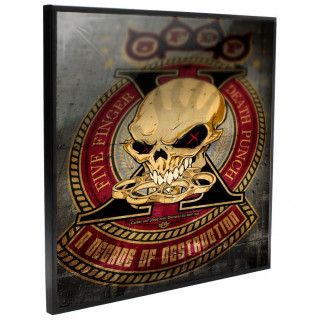Cadre déco mural Five Finger Death Punch - Decade of Destruction - 32cm