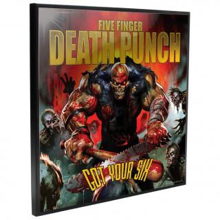 Cadre déco mural Five Finger Death Punch - Got Your Six - 32cm