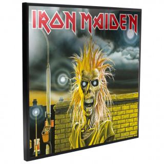 Cadre déco mural Iron Maiden - 32cm