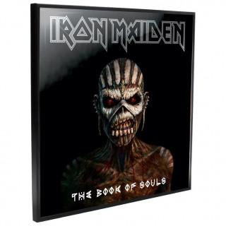 Cadre déco mural Iron Maiden - The Book of Souls - 32cm
