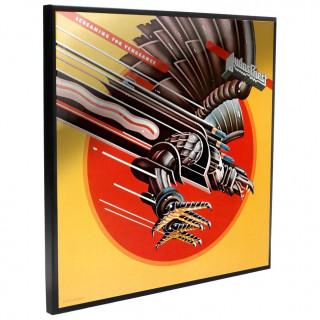 Cadre déco mural Judas Priest - Screaming for Vengeance  - 32cm