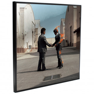 Cadre déco mural Pink Floyd - Wish You Were Here  - 32cm