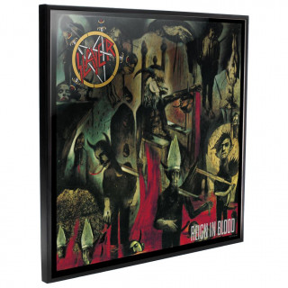 Cadre déco mural Slayer - Reign in Blood - 32cm