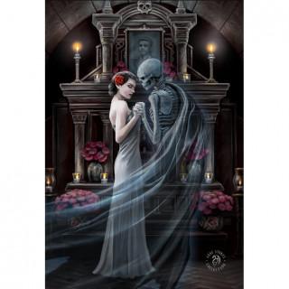 Carte postale Effets 3D à amoureux spectraux - Anne Stokes