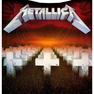 """Couverture plaid 160cm """"Master of Puppets"""" - Metallica (officiel)"""