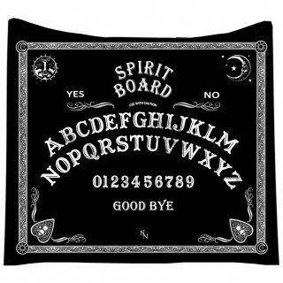 Couverture plaid 160cm planche ouija - Nemesis Now