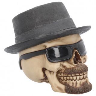 Crane badass à chapeau et lunettes de soleil (15,8cm)