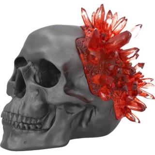 Crane déco noir à faux cristaux rouges - Nemesis Now