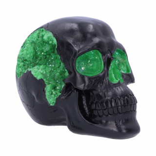 "Crane déco noir ""Geode Skull Green"" - Nemesis Now"